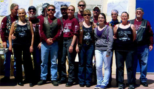 2010 OPR Group wearing the 2010Design Winner